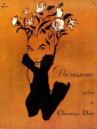 Gruau_Dior_Diorissimo_Perfumes_1957