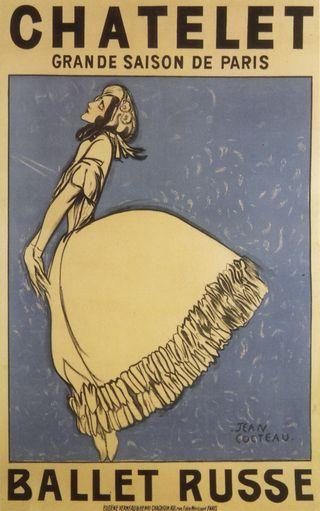 Jean Cocteaus affisch1911