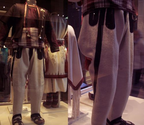 a groom 39s wedding suit on display at the British Museum from Gali nik