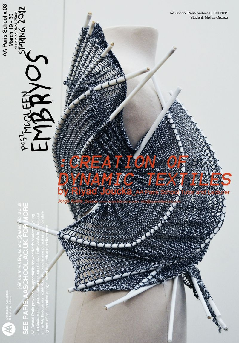 AA School Paris_  Spring 2012_ Post-McQueen Embryos_ (3)