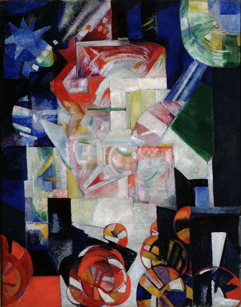 1 Exter, Compositie, 1914