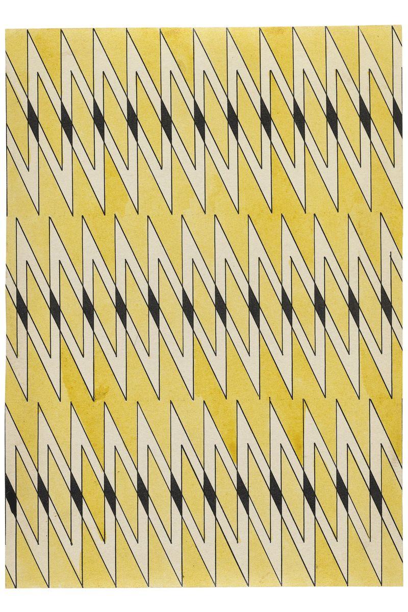 12 Stepanova, Textielontwerp, 1924