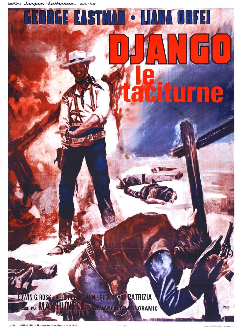 POSTER - DJANGO KILLS SOFTLY