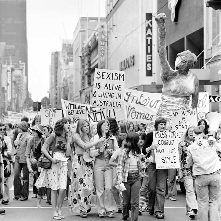International Women's Day rally, Melbourne1975