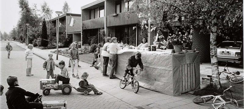 Rijks_Buurtfeest Tarwehof, Theo Baart, 1986