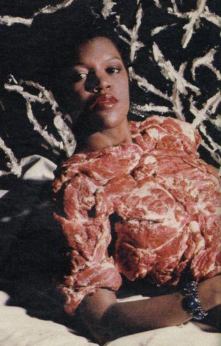 Meat dress 1984