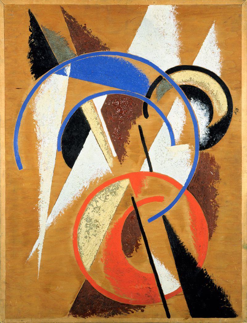 8 Popova, Ruimte-kracht-constructie, 1921