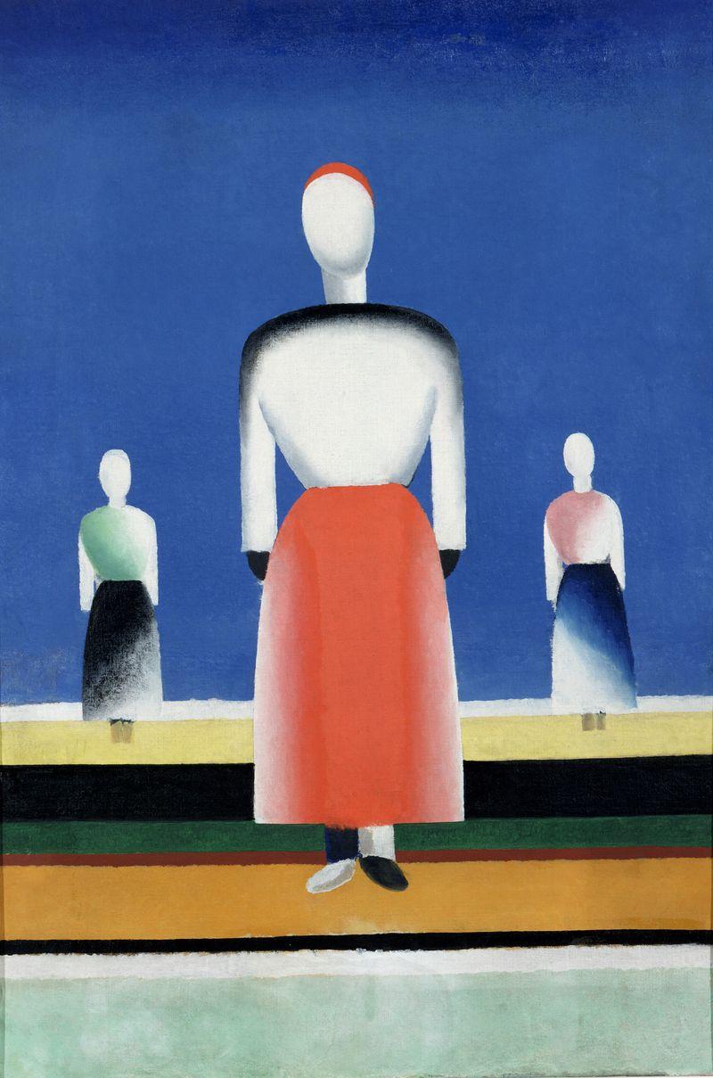 14 Leporskaya, Drie vrouwen, 1932-1934