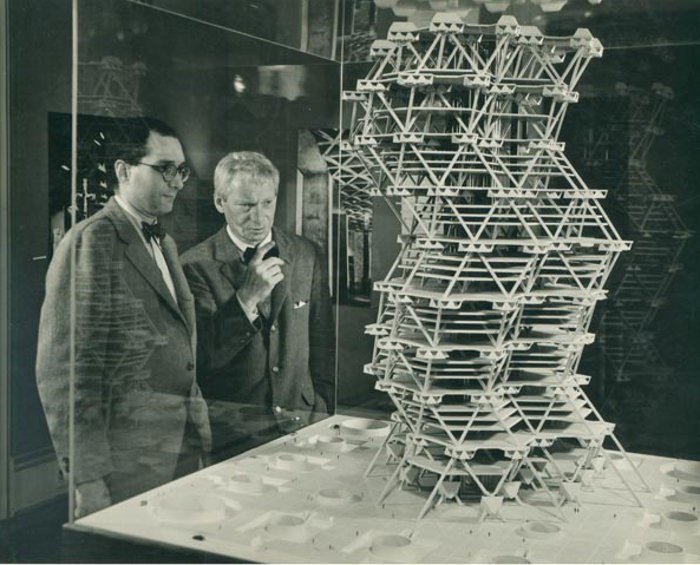 LouisKahn_City Tower Project_Cornell UniversityIthacaNYFeb58