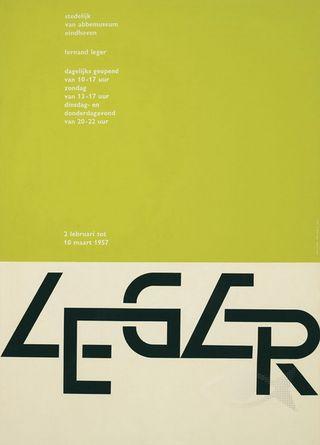 Wim Crouwel Poster Leger