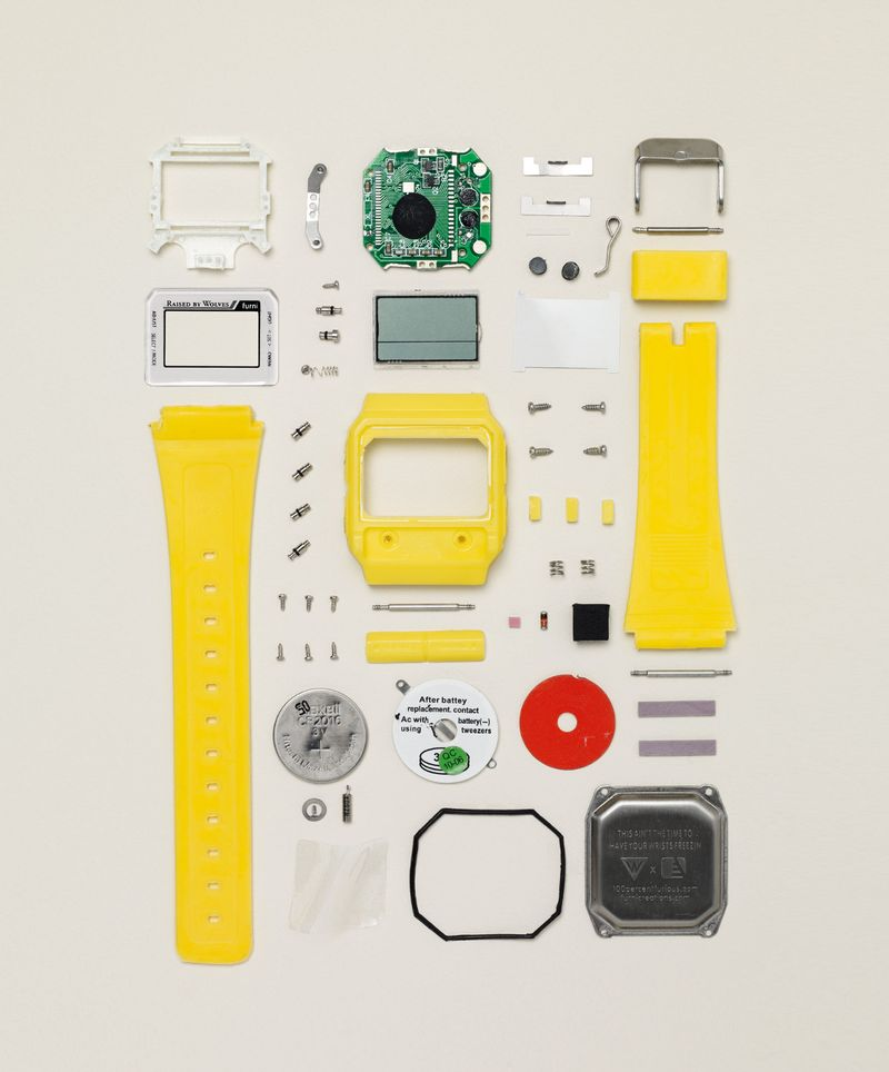 Disassembly Digital Watch_V02