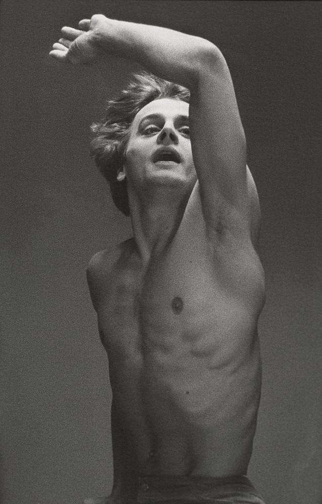 """MIKHAIL-BARYSHNIKOV-IN-""""LE-JEUNE-HOMME-ET-LA-MORT""""-by-Max-Waldman-1975"""