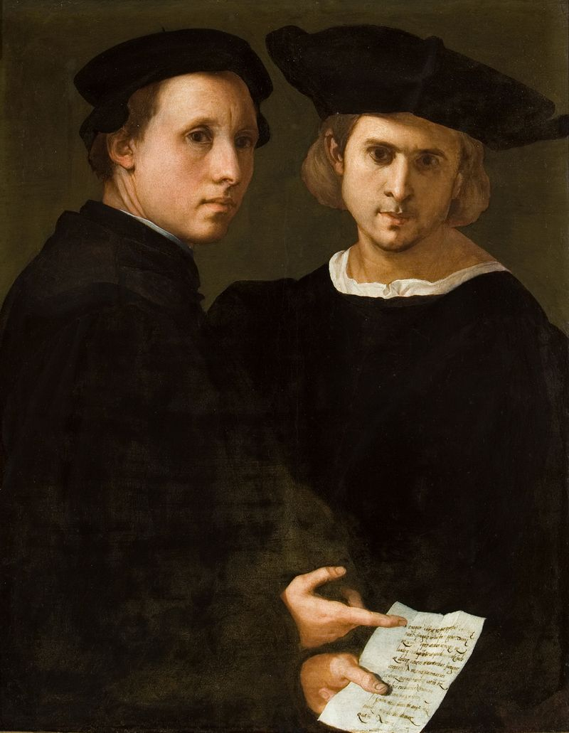 IV.1.3 Strozzi - Pontormo, Double portrait of friends