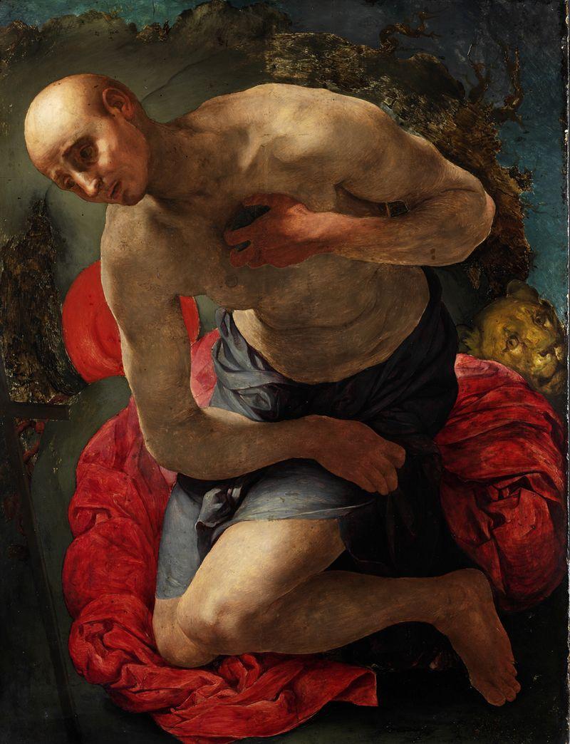 VIII.6 Strozzi - Pontormo, The Penitent Saint Jerome