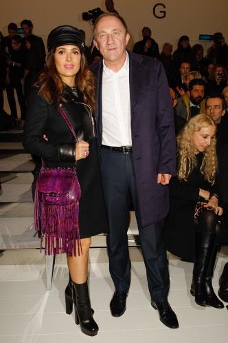MilanFashionWeek_Gucci_SalmaHayek