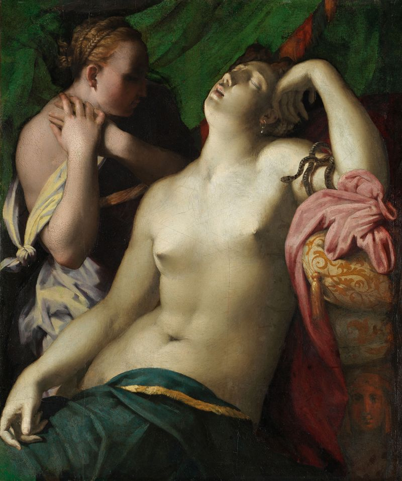 VII.3 Strozzi - Rosso, The Death of Cleopatra