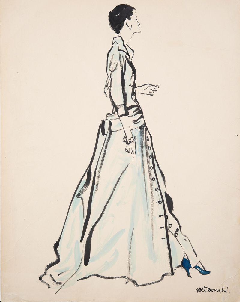26. Rene Bouche Amercian Vogue 62x48cms