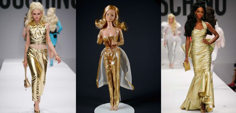 MoschinoSS15_BarbieGoldendream
