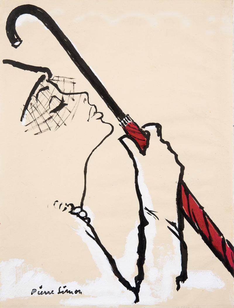 25. Pierre Simon Umbrella 35.3x27 cms
