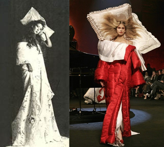 evolution and reinvention of the bed dress irenebrination notes on architecture art fashion fashion law technology