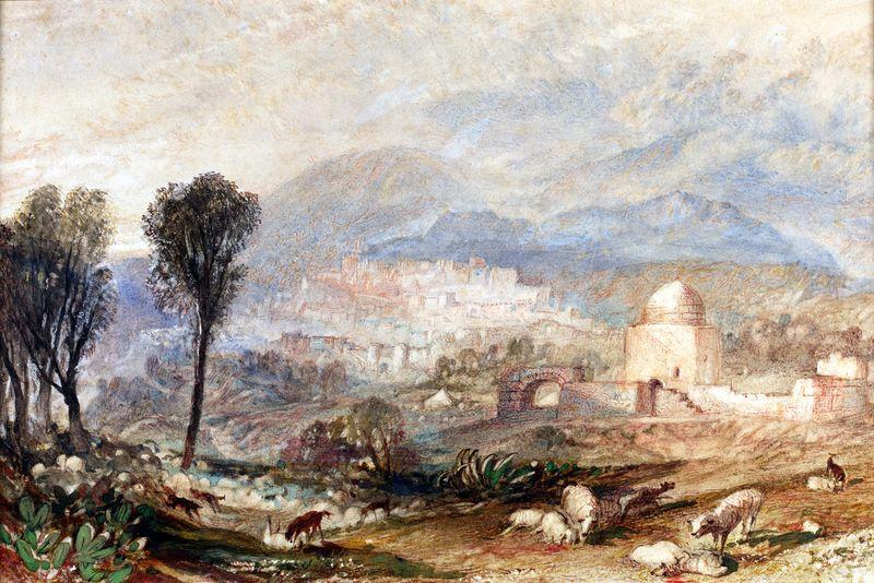 Blackburn_Ramah (Rachael's Tomb) JWM Turner