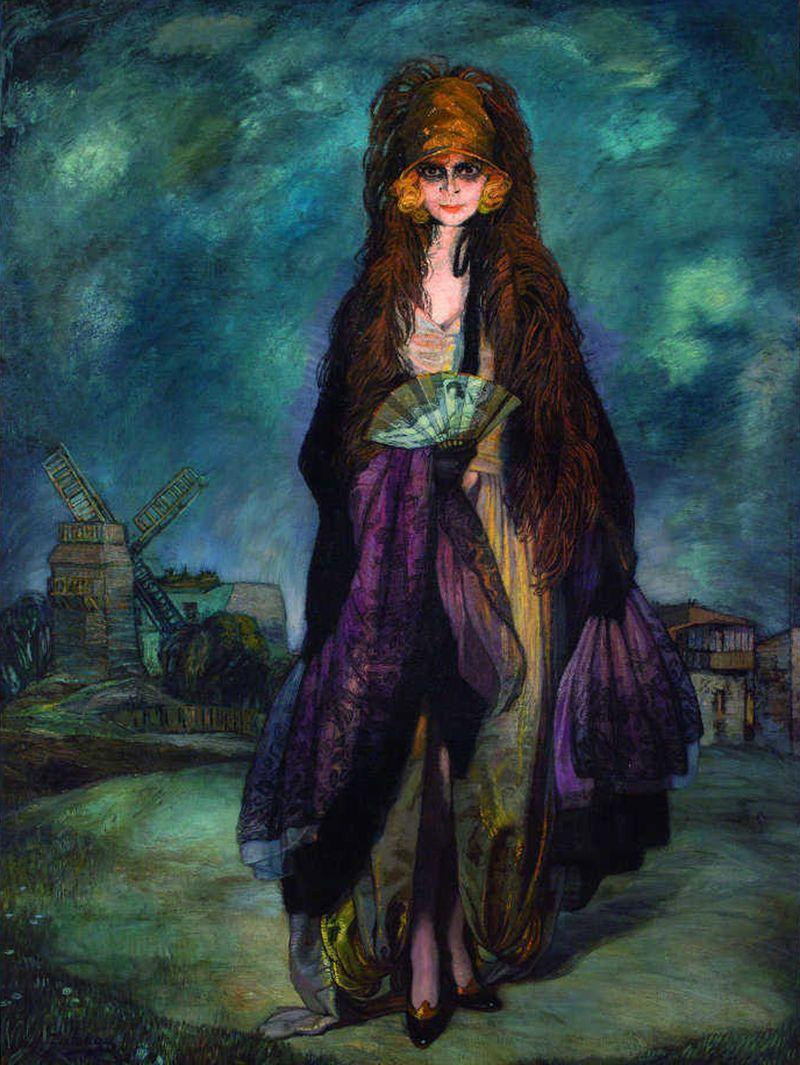 Ignacio-zuloaga-la-marchesa-casati-1923