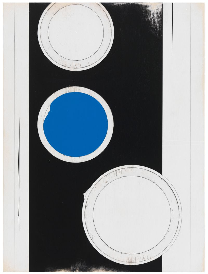 JW_Jens Wolf, 13.19, 2013, Acrylic on plywood, 80x60cm, Courtesy the artist and Ronchini Gallery