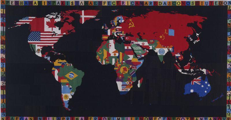 AlighieroBoetti_MapoftheWorld_1989