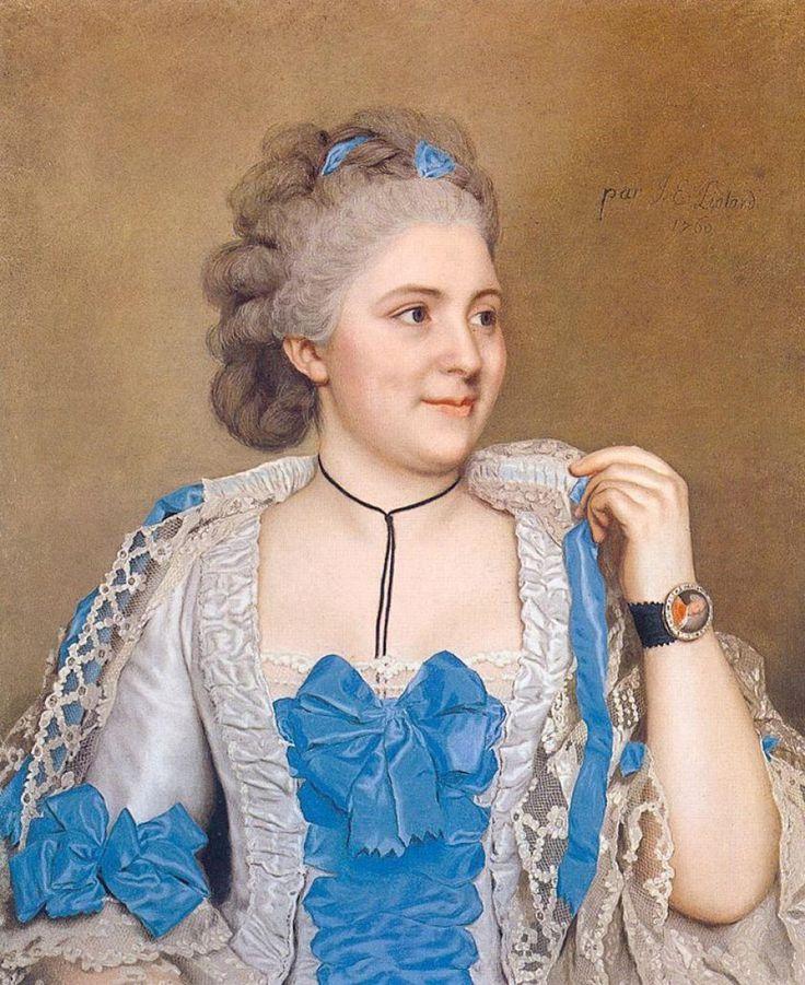 Jean-Etienne Liotard_Portrait of Julie de Thellusson-Ployard