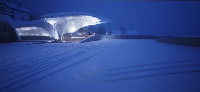 Nordpark Railway Stations (Hungerburg Station)_Innsbruck_photo Werner Huthmacher