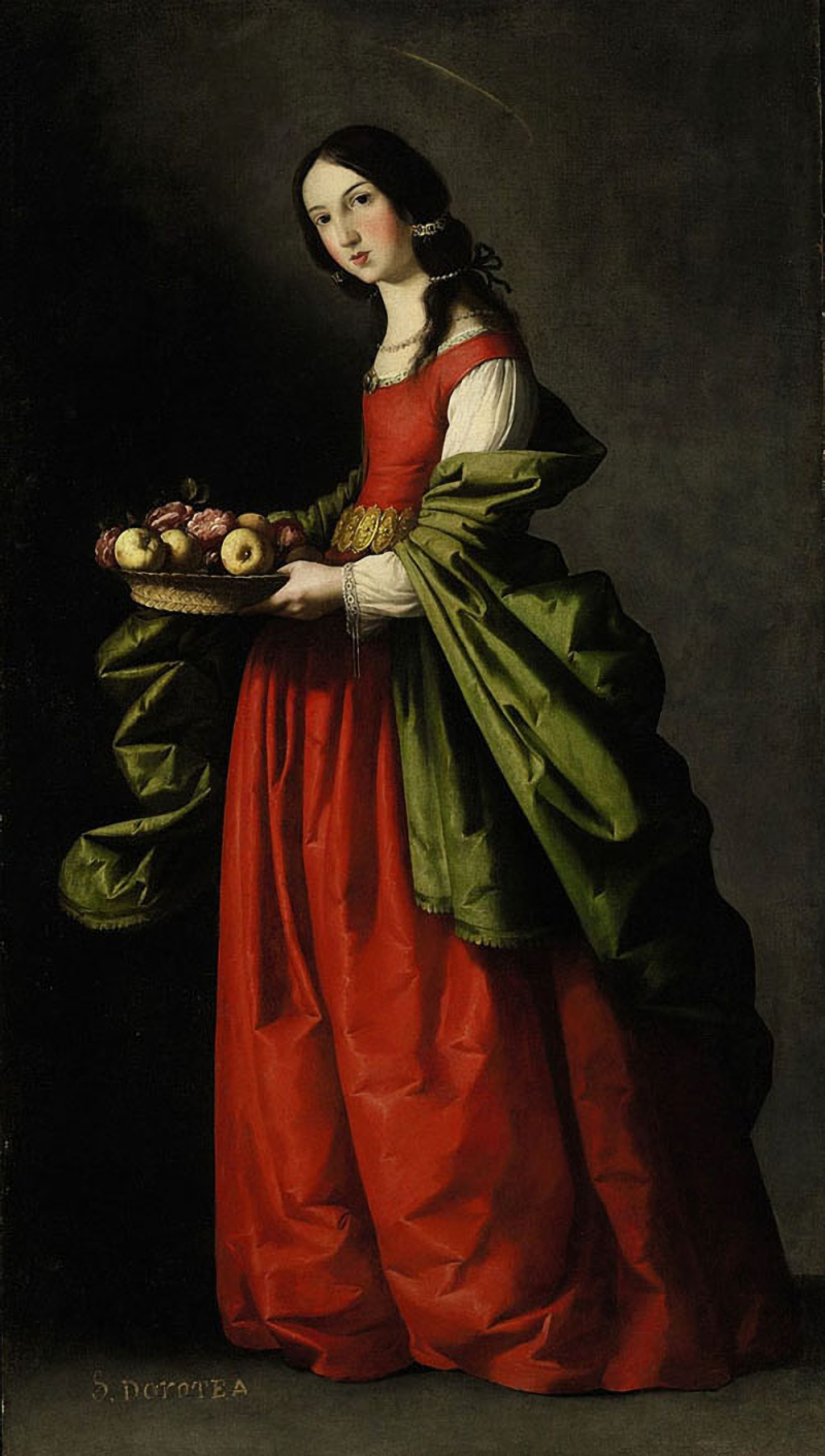 Francisco-de-Zurbaran-Santa-Dorotea_edit