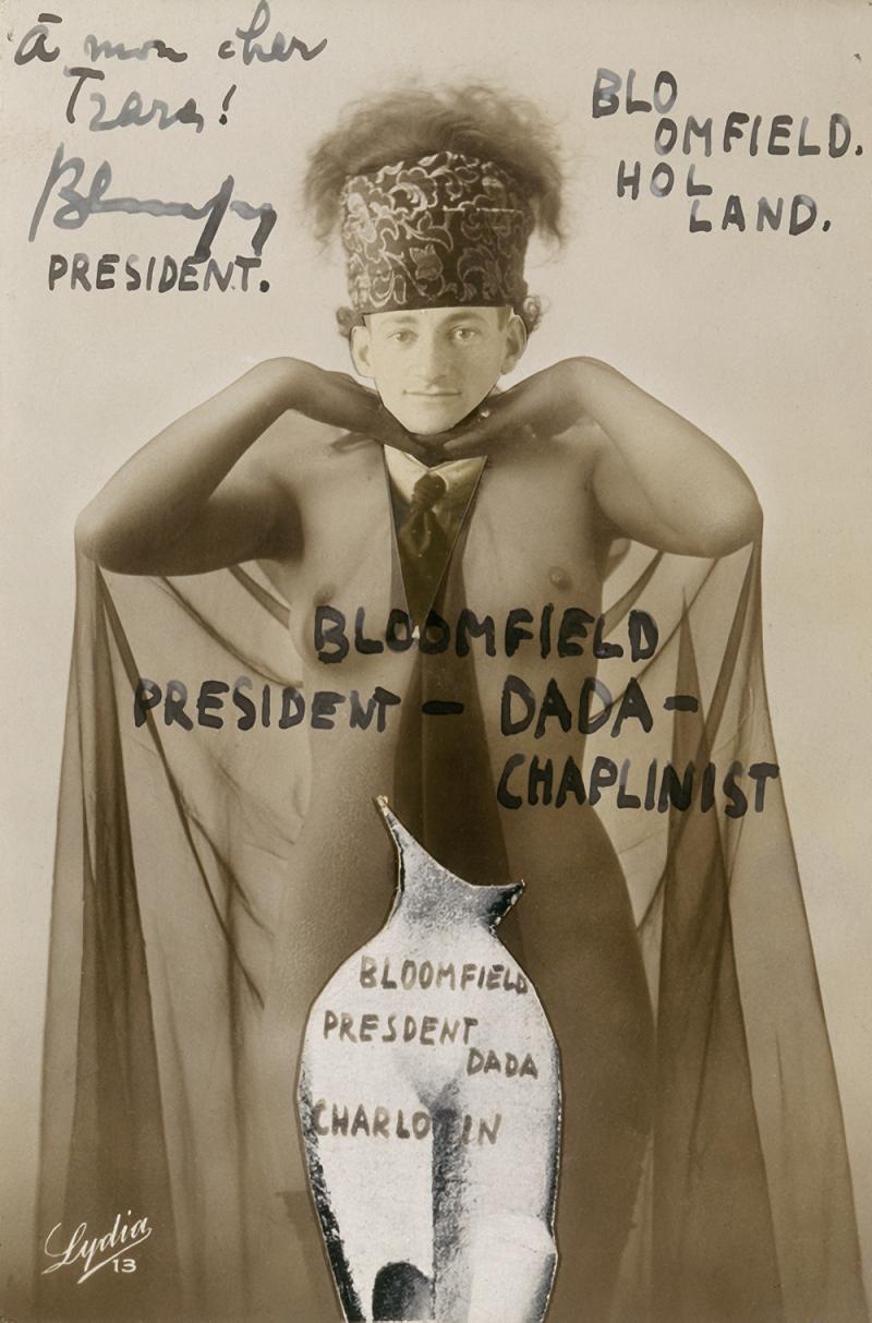 Blumenfeld, President-Dada-Chaplinist_1921