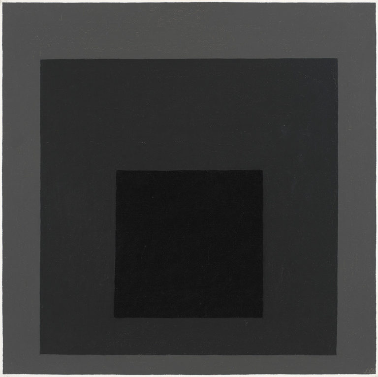 Josef Albers Study for Homage to the Square Late Exchange, 1964