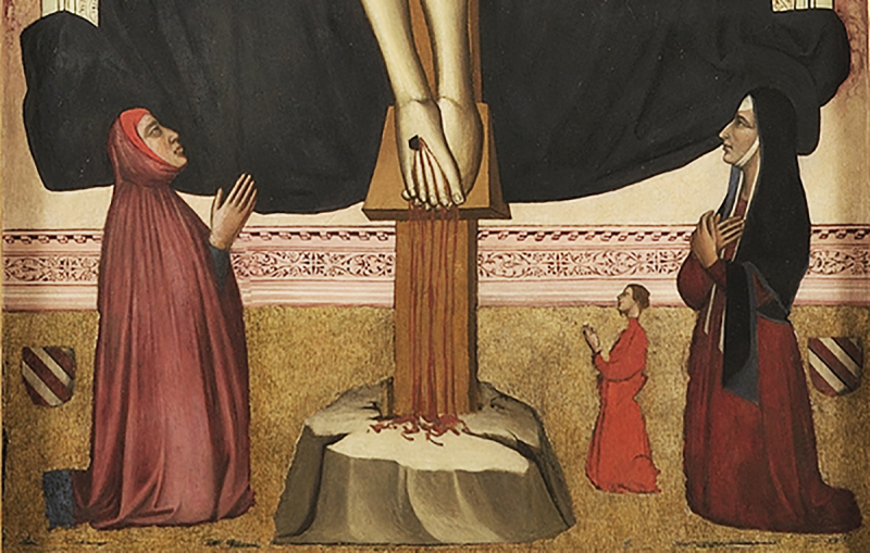 Niccolò_di_pietro_gerini,_trinità_con_francesco_datini_e_la_moglie,_1400-10_ca._01_detail