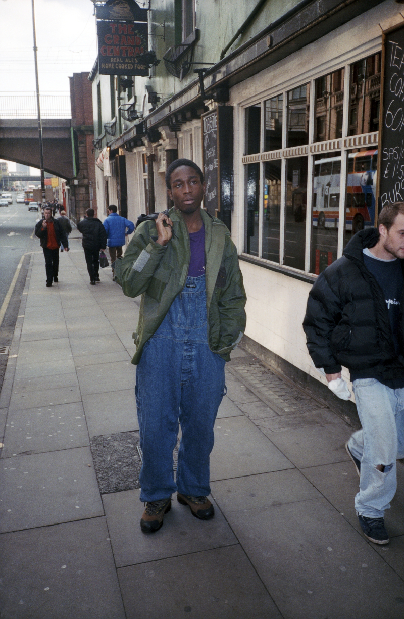 Photograph by Jason Evans, Untitled, Manchester, 1997 - 02