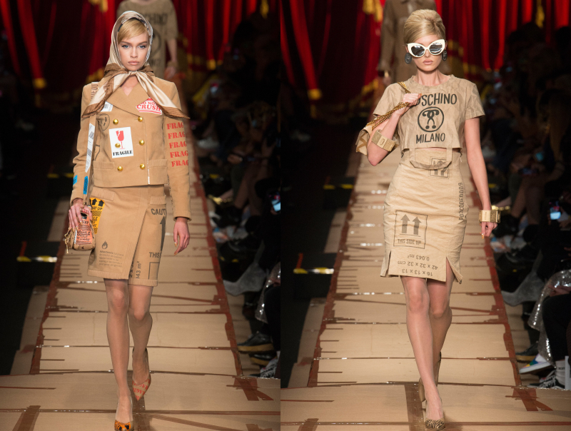 Reduce, Reuse, Recycle (Copy & Refashion?): Moschino A/W 2017 ...