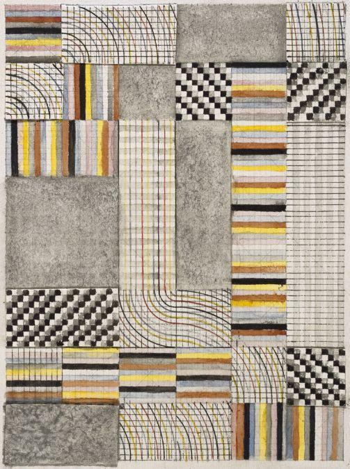 Bauhaus_Anni Albers, Design for a Rug, 1927