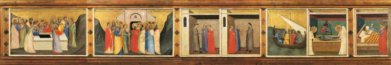 2_Bernardo Daddi Storie della sacra Cintola Prato Museo di Palazzo Pretorio