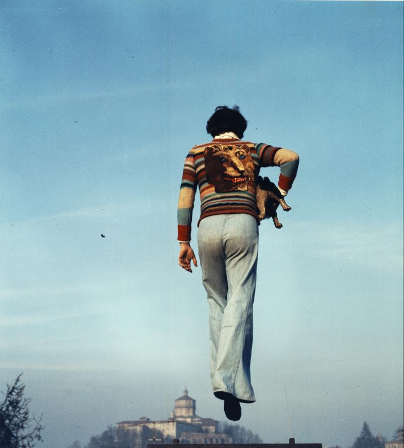 01_Ugo Nespolo  Ipotesi dialettica  1974  due fotografie cad. 103 x 235 cm_1