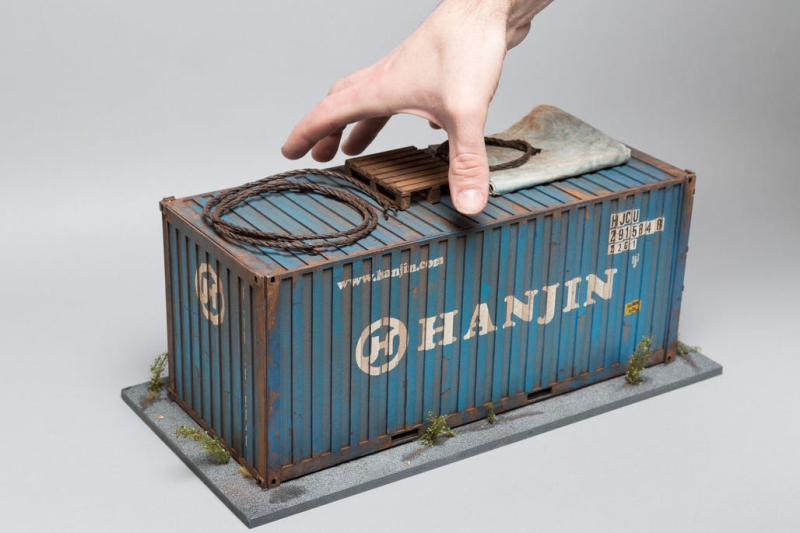 Hanjin Shipping Container_Hong Kong Docks_Joshua Smith