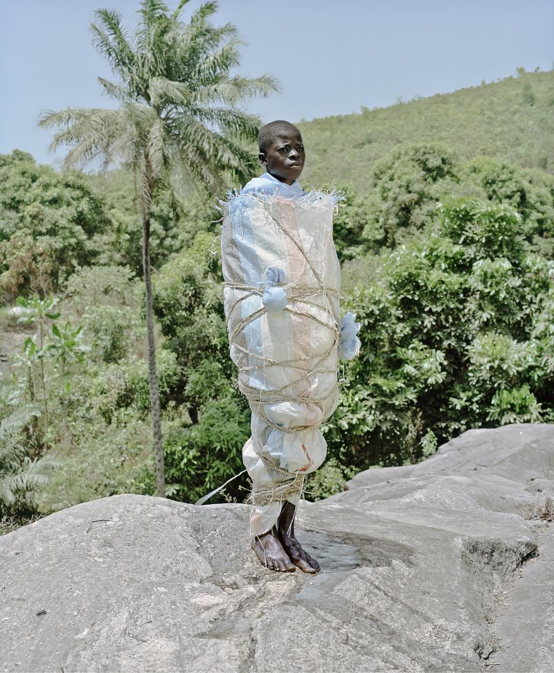 Namsa Leuba  Statuette Nganga SaleLaye - Guinea  Ya Kala Ben  2011  Print on Baryta paper  35 x 28.8cm with a white margin of 7.5 cm  courtesy the artist