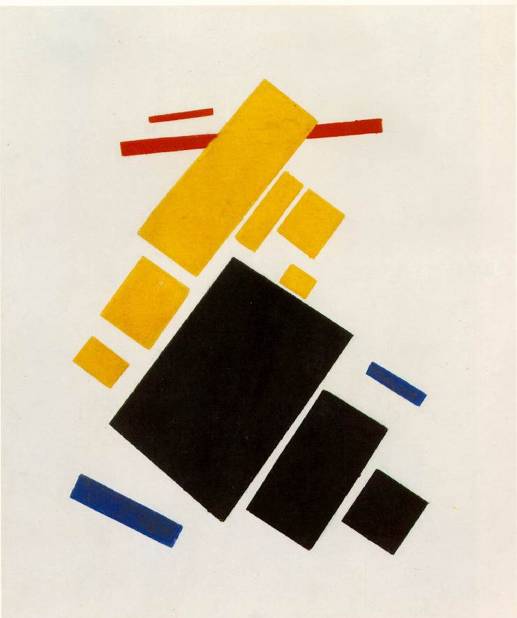KM_Suprematist Composition Airplane Flying