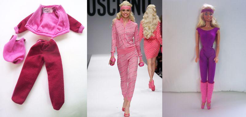 MoschinoSS15_BarbieGym