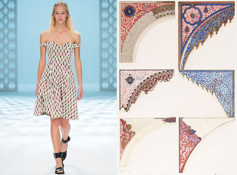 Chalayan_SS15_OwenJones_Decoration for the Alhambra Court_1