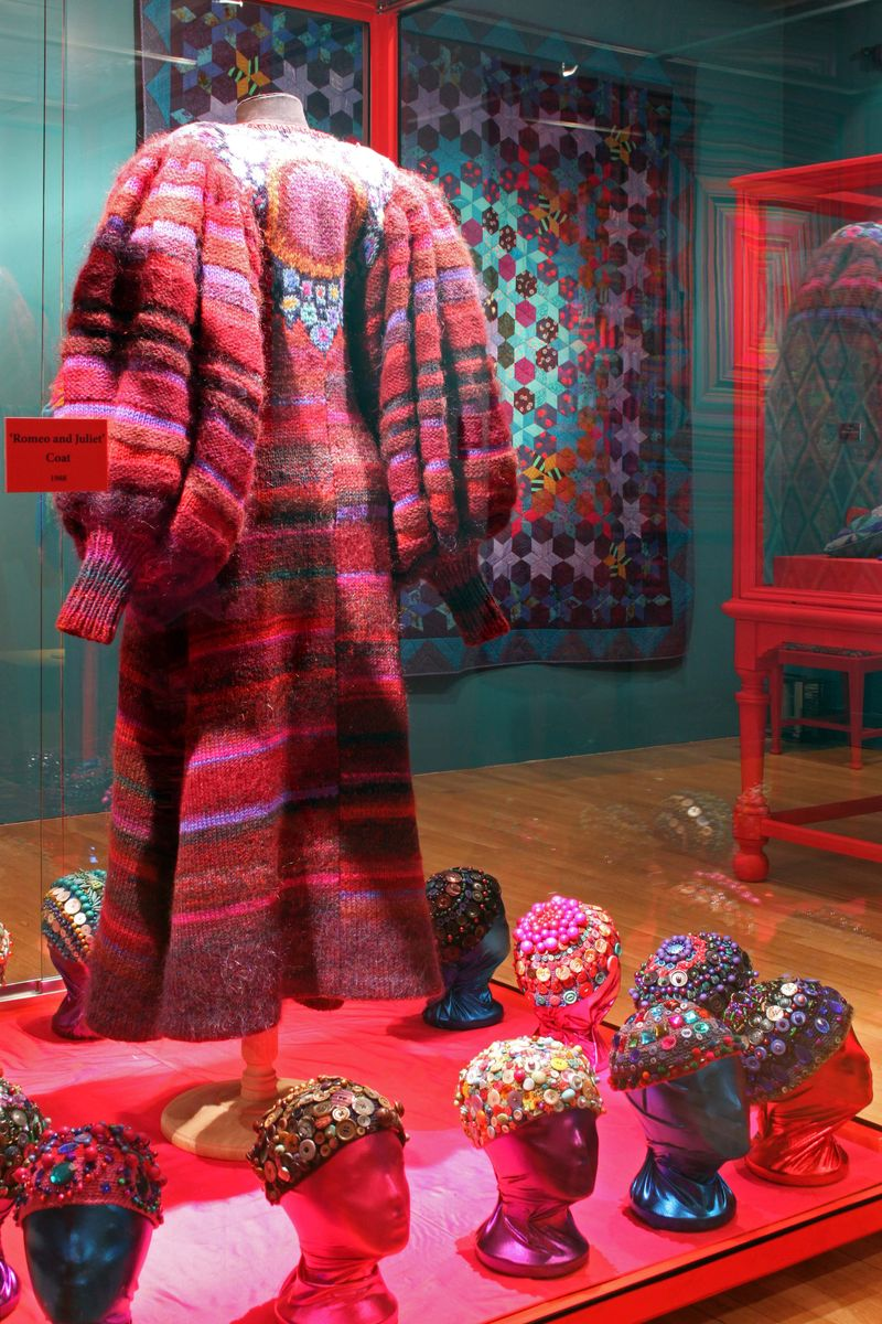AMiB Kaffe Fassett - Romeo and Juliet coat and beanies