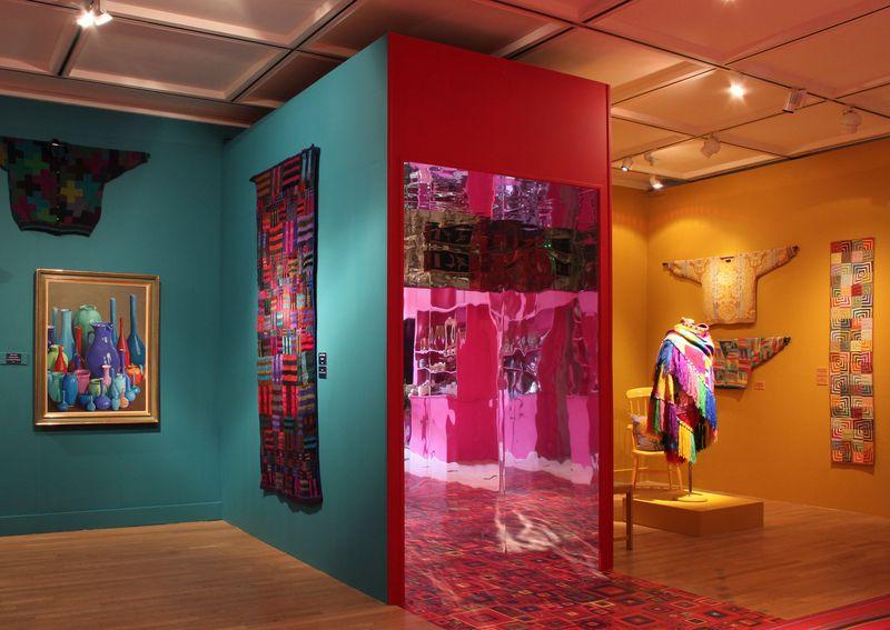 AMiB Kaffe Fassett - three blocks of colour
