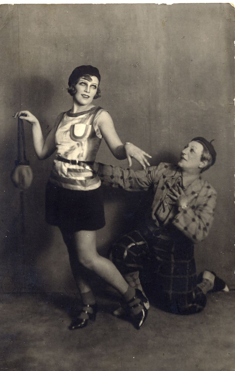 Photograph of rehearsals of The Bolt, 1931, Courtesy of GRAD and St Petersburg State Museum of Theatre and Music (1)