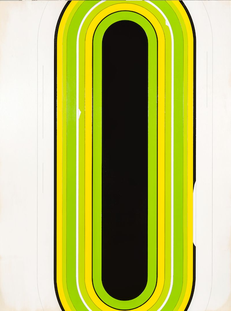 JW_Jens Wolf, 13., 2013, Acrylic on plywood, 80x60cm, Courtesy the artist and Ronchini Gallery