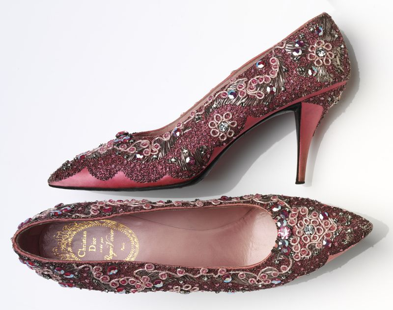 1._Roger_Vivier_190798_for_Christian_Dior_19051957._Evening_shoe_beaded_silk_and_leather_France_1958-60__Victoria_and_Albert_Museum_London