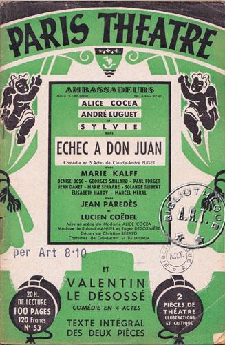 Balenciaga_Échec à Don Juan by Claude-André Puget